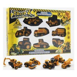 1-64-Pack-Construction-Vehicule-Travaux-Ensemble-De-Jouet-Pour-Enfant-metal-toy