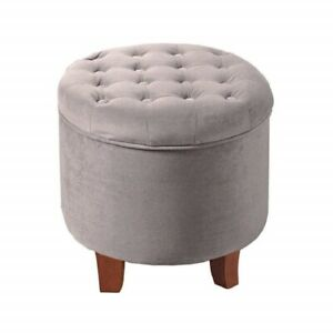 Admirable Details About Small Elegant Ottoman Bench Vanity Stool Seat Furniture Makeup Chair Modern New Andrewgaddart Wooden Chair Designs For Living Room Andrewgaddartcom