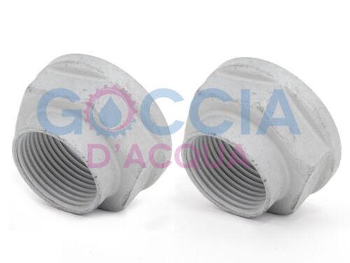 Genuine Mini R50 R53 R56 R55 R52 R57 Cooper Uno Dado esagonale con flangia 2 Pezzi