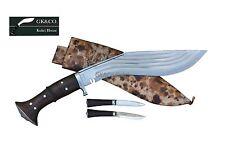 "Genuine Gurkha Knife - 14"" Blade 5 Chirra (5 fuller),Blocker kukri,Khukuri GK&Co"