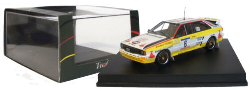 Trofeu 1619 Audi Quattro Rally Tour De Corse 1984-S Blomqvist 1//43 Escala