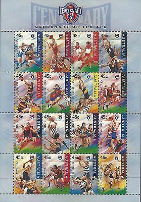 Sc 1507amnh Hohe QualitäT Und Geringer Aufwand Sport Centenary Der Afl Fußball Rugby Spieler Begeistert Australien 1996