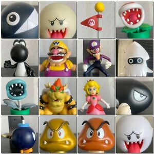 JAKKS-Super-Mario-2-5-034-Figure-World-of-Nintendo-WALUIGI-Wario-Boo-GHOST-Bowser