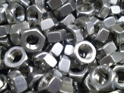 10 Sechskant Schrauben DIN 933 M7 x 10 bis 7 x 70 mm Vollgewinde Härte 8,8 galZN