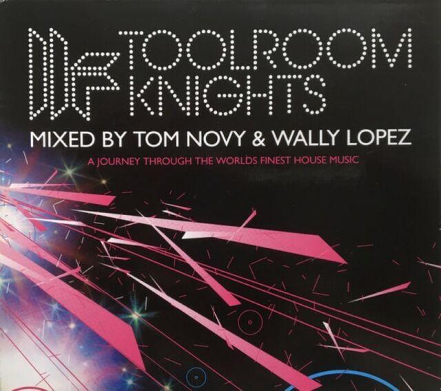 TOOLROOM KNIGHTS = Tom Novy & Wally Lopez = 2CD = TECHNO HOUSE!