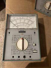 Vintage Multimeter Weston Schlumberger Model 660