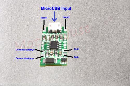 1S 5V Li-Ion De Litio Usb 18650 Lipo Batería cargador módulo protección de carga