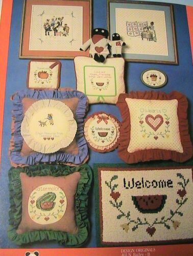 AIN/'T JUST WHISTLIN/' DIXIE~*RARE /& OOP 1981~2 cross stitch graphs Booklet