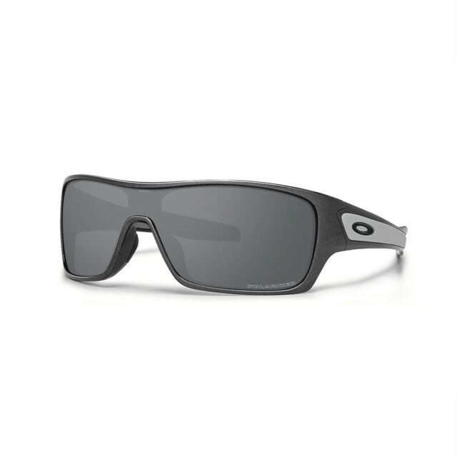 df85f88e31 Oakley Turbine Rotor Sunglasses Granite Black Iridium Polarized 2016 ...