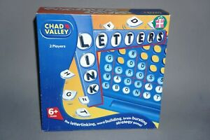 Link-Letters-Chad-Valley-Age-6-Years-For-2-Players-Word-game-100-Complete