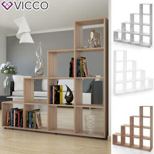 Vicco Meuble Rangement Bibliotheque Etagere De Separation Ebay