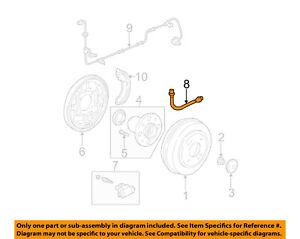 honda oem 01 05 civic rear brake hydraulic flex hose 01466s5a000 ebay 1994 Honda Civic Fuse Diagram image is loading honda oem 01 05 civic rear brake hydraulic