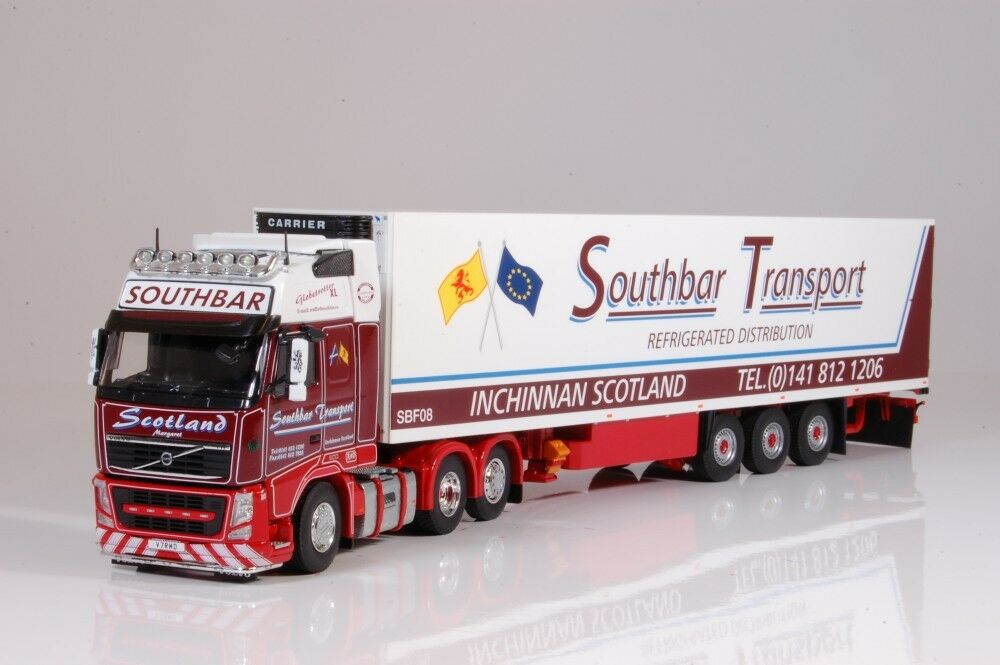 Tekno 62514 - Volvo FH03 Globetredter RHD with Cooling Trailer Southbar 1 50