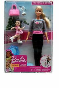 You Can Be Anything...Ice-Skating Coach Barbie Doll
