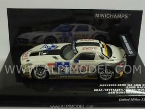 Mercedes Sls Amg Gt3 Nürburgring 2012 Graf - Jager 1:43 Minichamps 437123222