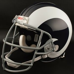 135ba167 Details about LOS ANGELES RAMS 1964-1972 NFL Riddell REPLICA Throwback  Football Helmet