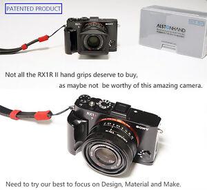 ALSTONHAND SONY RX1R II 2 camera hand grip, finger grip. Metal, amazing Design!