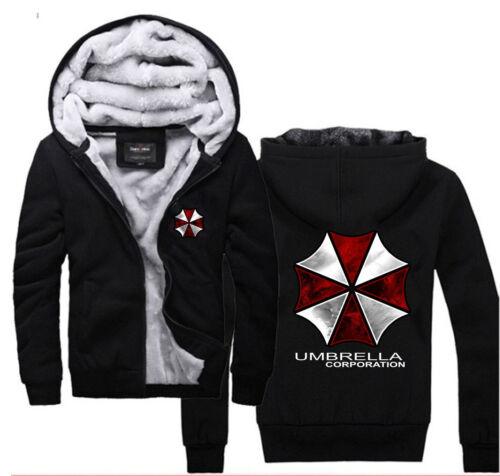 à en Umbrella CorporationSweat Resident hiver chaud super Evil capuche Logo SUVpqzM
