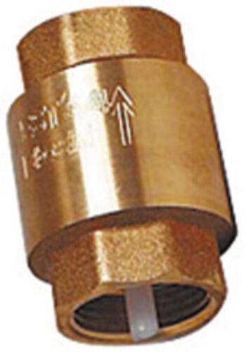 "Universal Rückschlagventil 1//2/"" 2/"" Messing Euro-Ausführung Wesa-Armaturen"