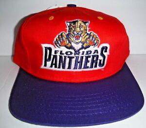 84bfcb48fa0 Florida Panthers Kids Youth Boys Size NWT NHL Vintage Snapback Hat ...