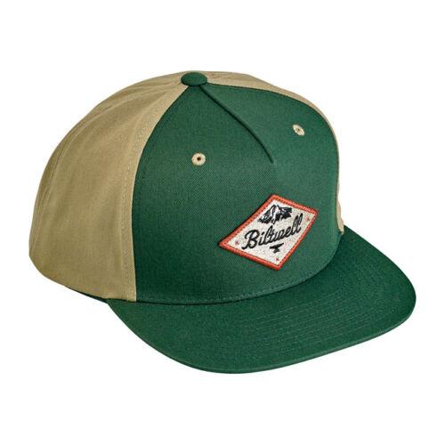 Biltwell Rocky Mountain Snapback Cap Grün-Beige