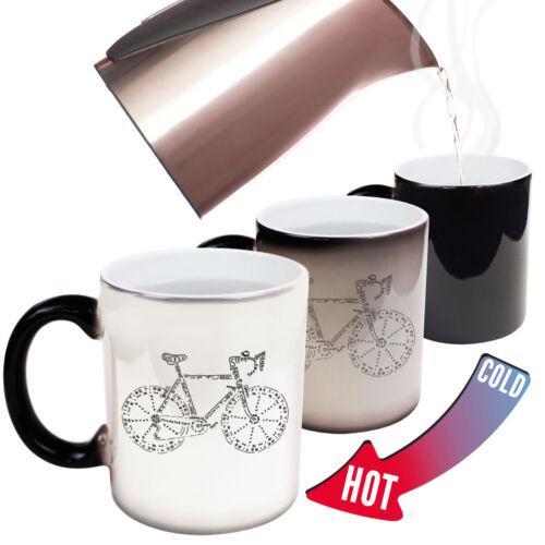 Bike Sketch Bicycle Cycling Mountain Bike BMX MAGIC NOVELTY MUG Funny Mugs