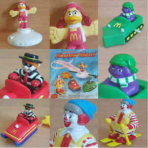 McDonalds-Happy-Meal-Toy-1994-Winter-Sports-McDonaldland-Figures-Toys-Various