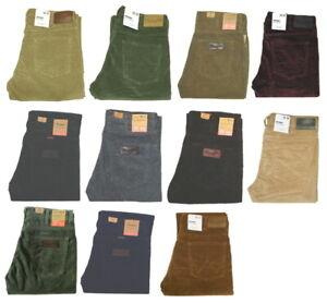 Wrangler-Arizona-Jeans-Cord-Hose-Stretch-Groesse-amp-Farbe-waehlbar-1-Wahl-Neuware