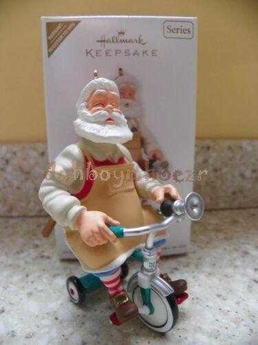 Hallmark 2011 Toymaker Santa Claus Series Ornament Register to Win Repaint