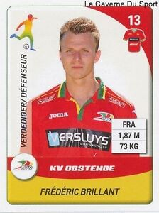 N-229-FREDERIC-BRILLANT-FRANCE-KV-OOSTENDE-STICKER-PANINI-PRO-LEAGUE-2015
