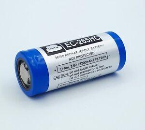 Enercig-BATTERIA-26650-5200mAh-16-6-A-entladestrom-PER-Vaporesso-NEBULA-100W