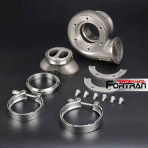 Details about A/R 61 Twin-scroll Turbo Housing Garrett GT3076R GTX3076R  /HKS 3037 V-band