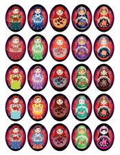RUSSIAN NESTING DOLLS GREETING CARDS 10 PACK