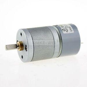 3V DC 30RPM High Torque Electric Gear Box Motor