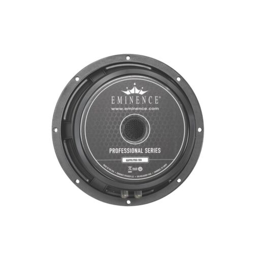 "Eminence Kappa Pro 10A Mid-Bass 10/"" Speaker 8 Ohms 500 Watt"
