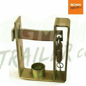 Trailer-Hitch-Coupling-Lock-Heavy-Duty-2-Stage-Universal-Security-Padlock