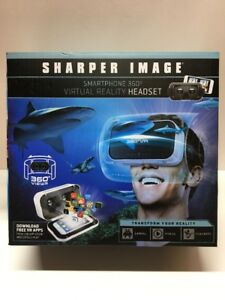 New Sharper Image Smartphone 360 Virtual Reality Headset Free