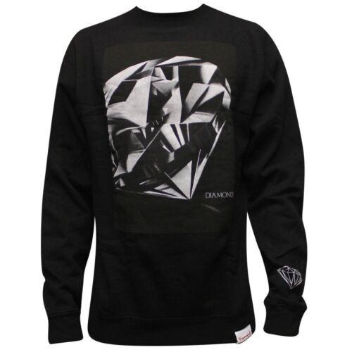 Diamond Supply Co Diamond Cut Sweatshirt Black
