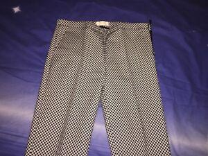 nuovo arrivo 93597 04854 Pantaloni Vicolo bianco nero donna   eBay