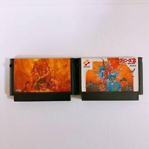 Goonies-1-2-Set-Nintendo-Famicom-FC-NES-Japan-game-Tested-Working