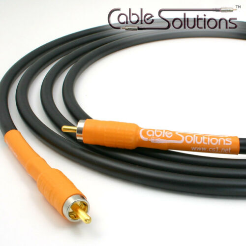 CS Signature Series 77 Coaxial Digital Audio Interconnect Cable CEA 0.3m