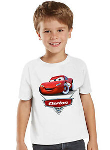 1b98d8d79 Image is loading Cars-Birthday-Shirt-Custom-Name-and-Age-Personalized-