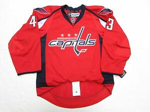 check out 24191 80536 Details about TOM WILSON WASHINGTON CAPITALS AUTHENTIC HOME REEBOK EDGE 2.0  7287 HOCKEY JERSEY