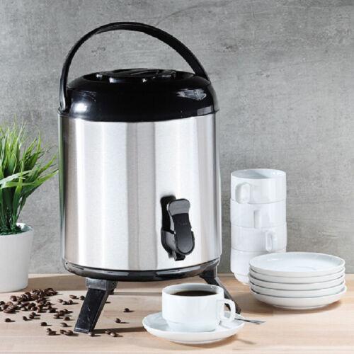 Warmhalte-Airpot mit Zapfhahn 8l  Heißgetränkespender Getränkespender Kaffeepot