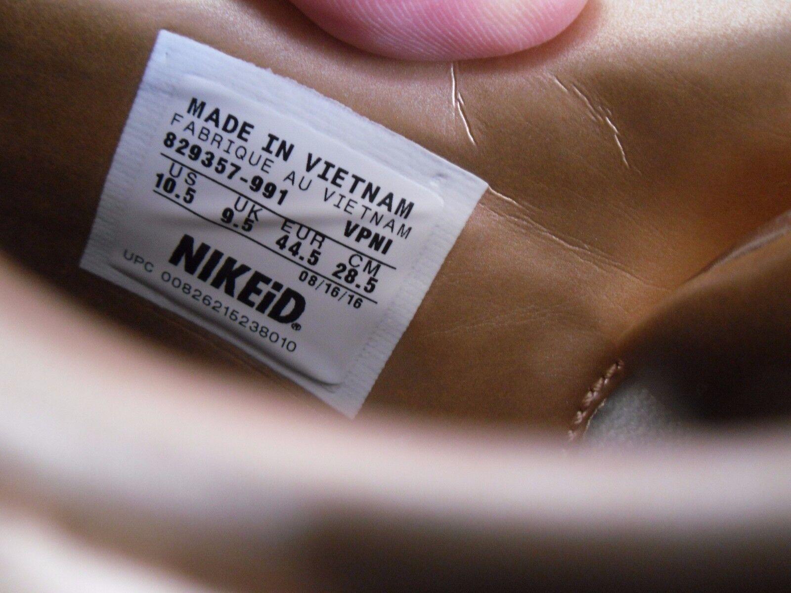 NIKE AIR MAX 1 PREMIUM ID LIQUID BRONZE ROSE [829357-991] GOLD-WHITE SZ 10.5 [829357-991] ROSE 38ed7c