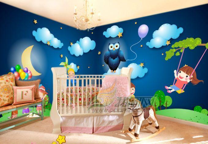 3D Wolke Mädchen-Schwingen Fototapeten Wandbild Fototapete BildTapete Familie DE
