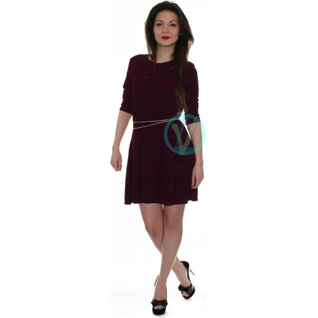 Womens Party Swing  Dress Tunic Mini Celeb Vintage Flared Boho Tunic Top 8 14