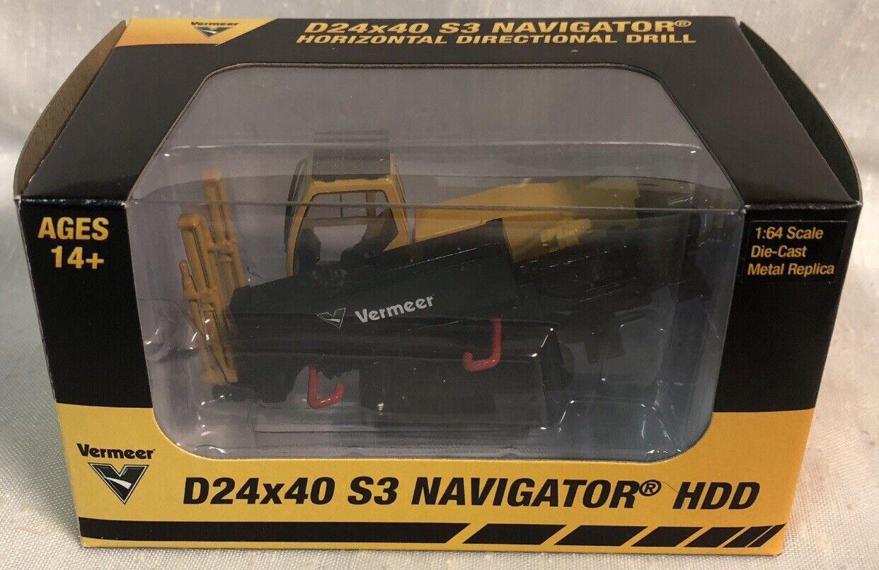 1 64 Vermeer D24x40 S3 Navigator Horizontal Directional Drill NIB Spec Cast