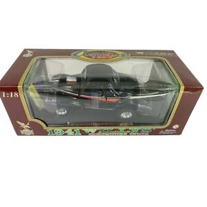 #92278 Road Legends Black 1941 Willys Gasser Competition Coupe Die Cast 1:18