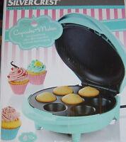 Silvercrest® Sccm 800 A1 Cupcake Maker,blau,neu